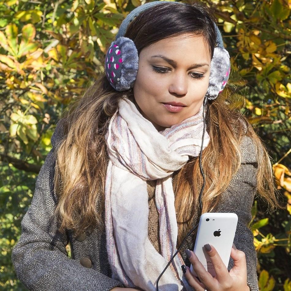 aparatori urechi hearts cablu cu mufa de 35mm ksmfbht gri alb roz