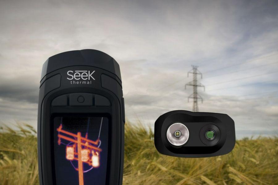camera cu termoviziune seek thermal reveal xr fastframe rt ebax pure black 1
