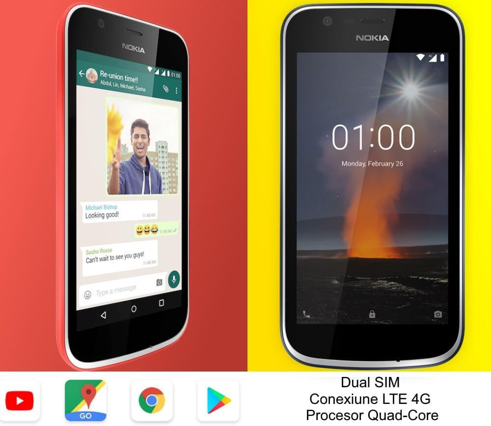 telefon mobil dual sim nokia 1 1