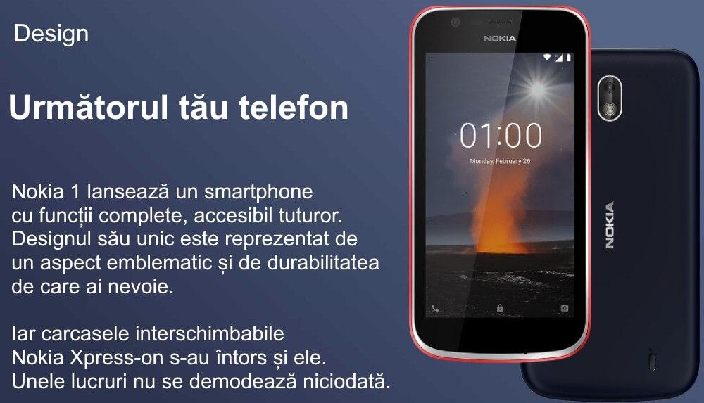 telefon mobil dual sim nokia 1