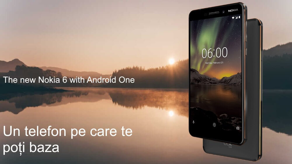 the new nokia 6 with android one