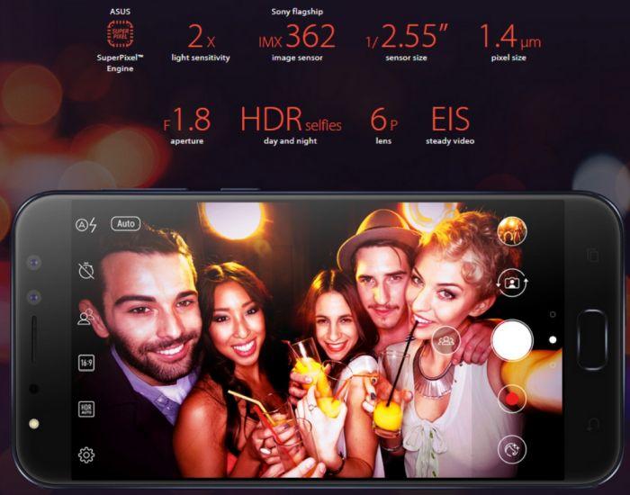 zenfone 4 selfie pro zd552kl octa core 20ghz 64gb 4gb ram lte deepsea black 11