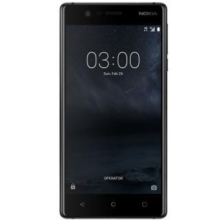 Nokia 3 Dual SIM, 16GB + 2GB RAM, Matte Black