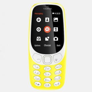 Nokia 3310 Dual SIM, Yellow