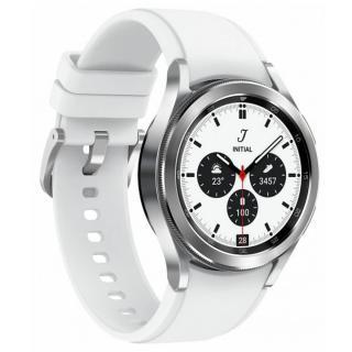 Ceas Smartwatch Samsung Galaxy Watch 4 Classic, 42 mm, Bluetooth, Silver