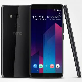 HTC U11 Plus Dual SIM, 128GB + 6GB RAM, Ceramic Black
