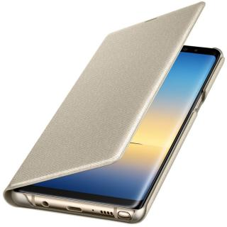 Led View Cover pentru Samsung Galaxy Note 8 (N950), EF-NN950PFEGWW Gold