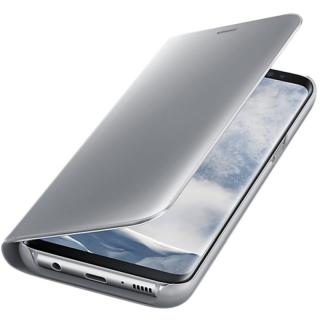 Husa Clear View Stand Cover pentru Samsung Galaxy S8 (G950), EF-ZG950CSEGWW Silver