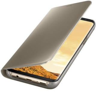 Clear View Stand Cover pentru Samsung Galaxy S8 Plus (G955), EF-ZG955CFEGWW Gold