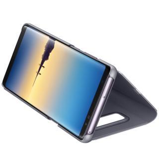 Clear View Standing pentru Samsung Galaxy Note 8 (N950), EF-ZN950CVEGWW Orchid Gray