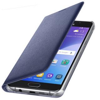 Husa Flip Wallet pentru Samsung Galaxy A5 (2016), EF-WA510PBEGWW Black