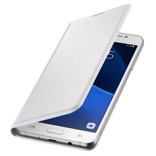 Husa Flip Wallet pentru Samsung Galaxy J5 2016 (J510), EF-WJ510PW White