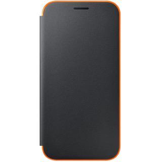Husa Neon Flip Cover pentru Samsung Galaxy A5 (2017), EF-FA520PBEGWW Black