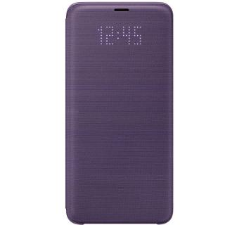 Husa protectie Samsung LED Flip Wallet pentru Galaxy S9 Plus (G965F), EF-NG965PVEGWW Purple