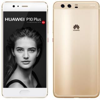 Huawei P10 Plus Dual SIM 128GB 6GB RAM Prestige Gold