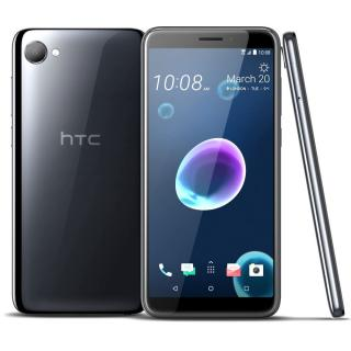 HTC Desire 12 Dual SIM, Quad-core 1.3 GHz, 32GB + 3GB RAM, LTE, Cool Black