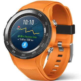Smartwatch Huawei Watch 2, LTE, Dynamic Orange Sport Strap