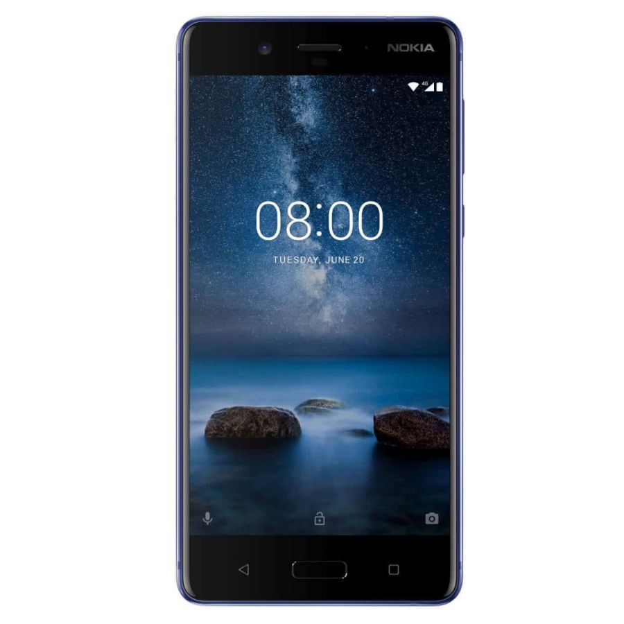 Nokia 8 64GB 4GB RAM Dual SIM Tempered Blue