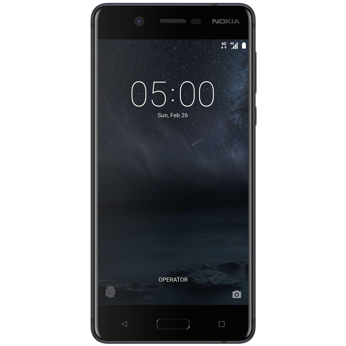 Nokia 5 Dual SIM, 16GB + 2GB RAM, Matte Black