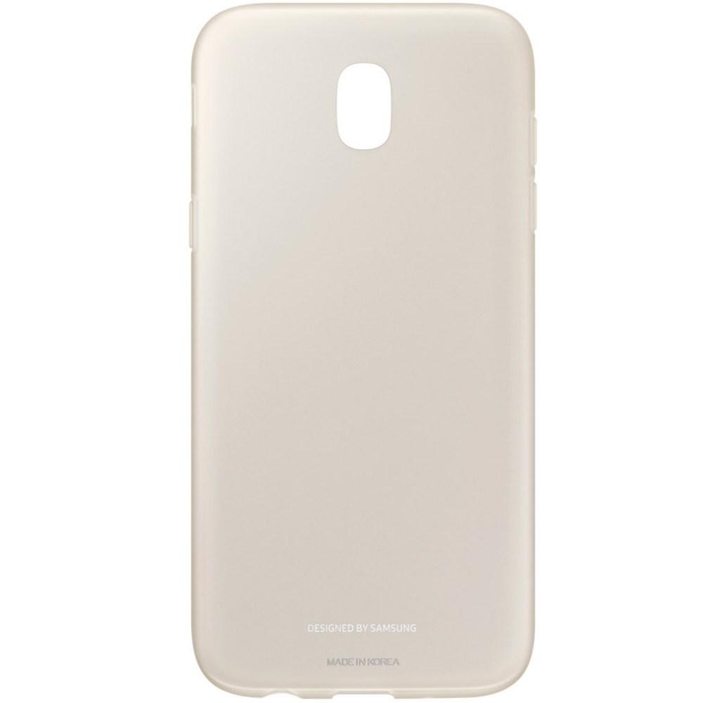 Capac protectie spate Jelly Cover pentru Samsung Galaxy J5 2017 (J530), EF-AJ530 Gold