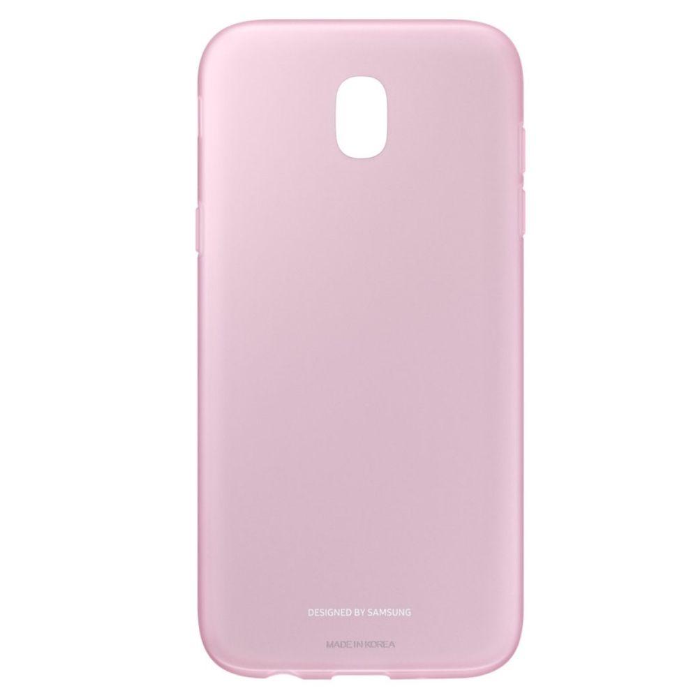Capac protectie spate Jelly Cover pentru Samsung Galaxy J5 2017 (J530), EF-AJ530 Pink