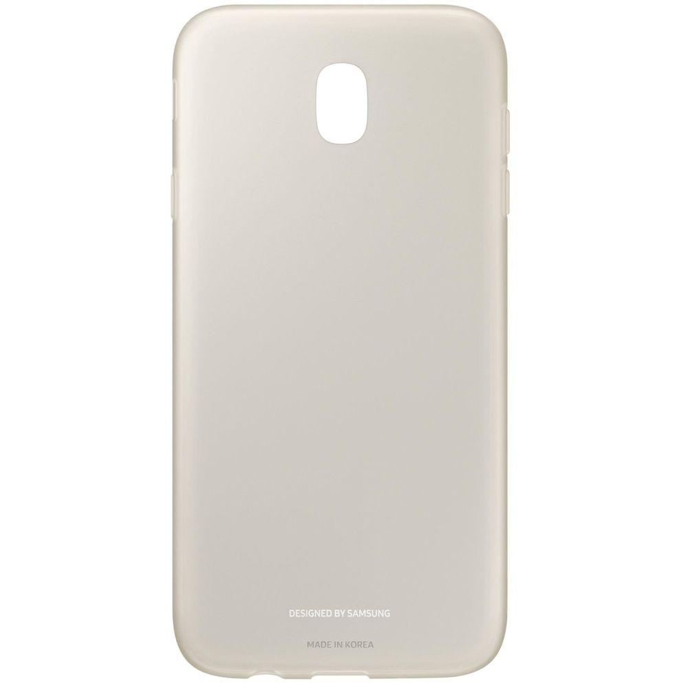 Capac protectie spate Jelly Cover pentru Samsung Galaxy J7 2017 (J730), EF-AJ730 Gold