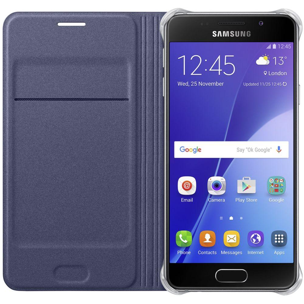 Husa Flip Wallet pentru Samsung Galaxy A3 (2016), EF-WA310PBEGWW Black