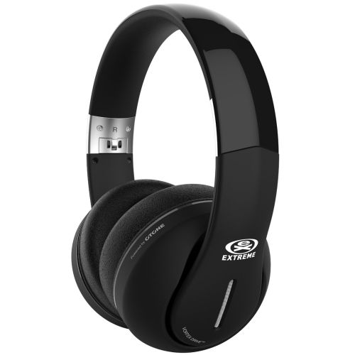 Casti audio stereo cu fir Extreme One-Eighties, Active Noise Cancelling Headphones – Blackout Edition