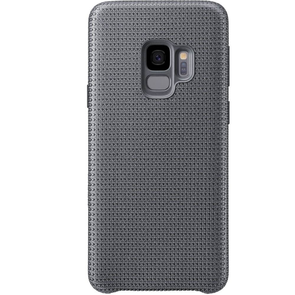 Capac protectie spate Samsung Hyperknit Cover Gray pentru Galaxy S9 (G960F), EF-GG960FJEGWW