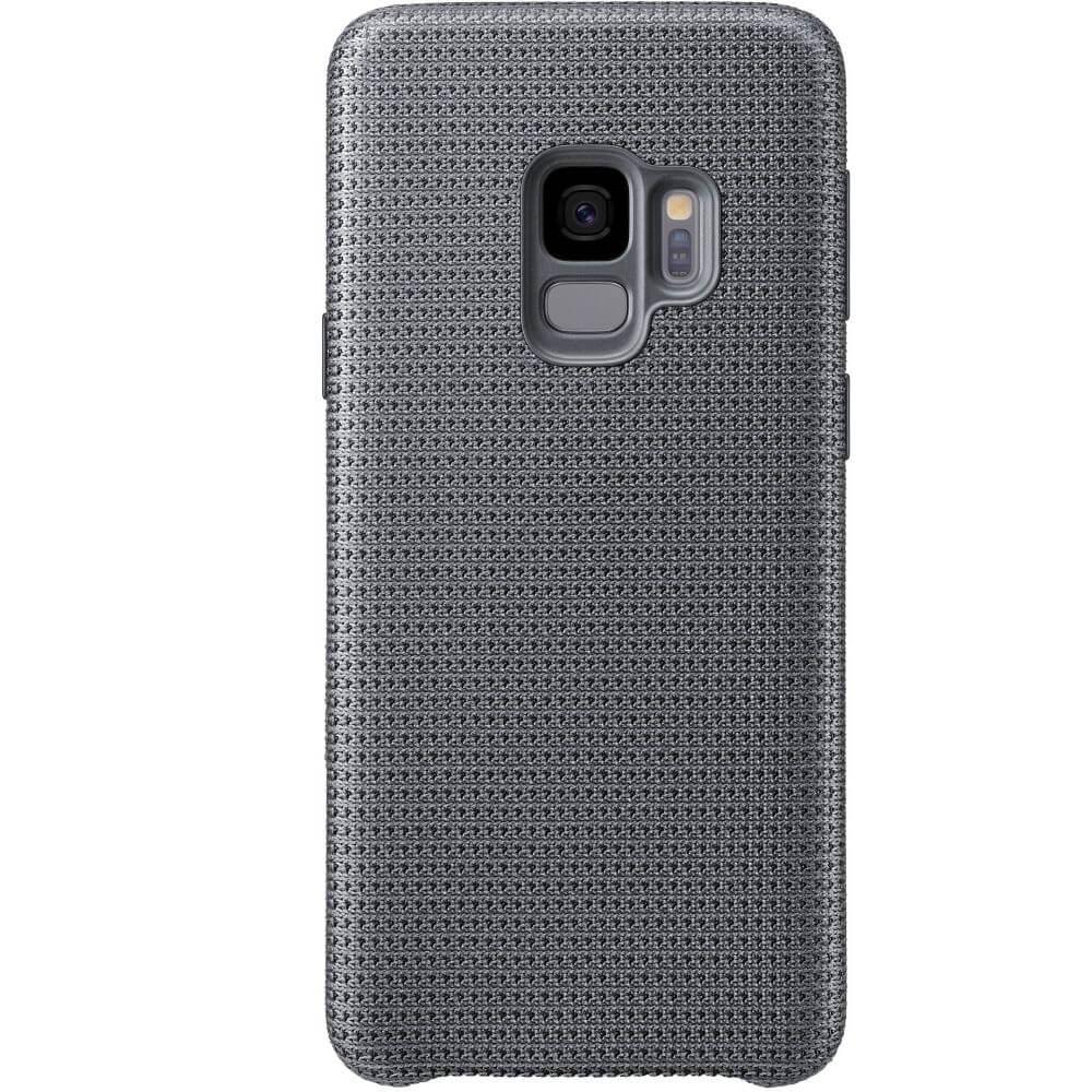 Capac protectie spate Samsung Hyperknit Cover Gray pentru Galaxy S9 (G960F), EF-GG960FJEGWW
