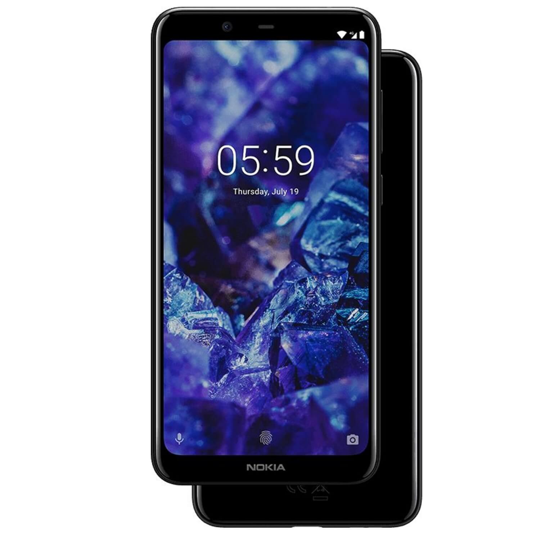 NOKIA 5.1 Plus Dual SIM, 32GB + 3GB RAM, Gloss Black