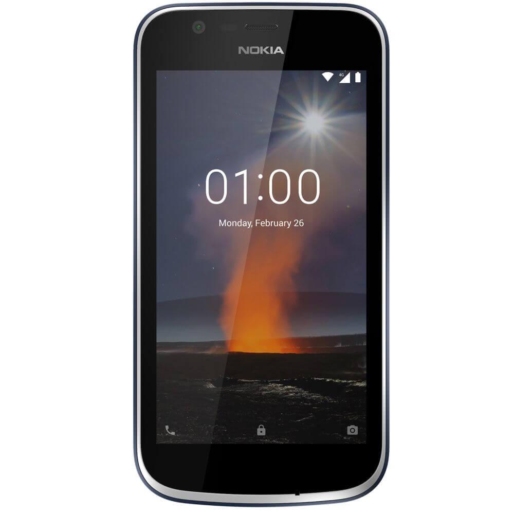 Nokia 1 Dual SIM, 8GB + 1GB RAM, Dark Blue