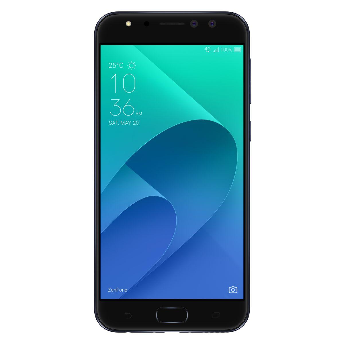 Asus Zenfone 4 Selfie Pro ZD552KL Dual SIM, Octa Core 2.0GHz, 64GB + 4GB RAM, LTE, Deepsea Black